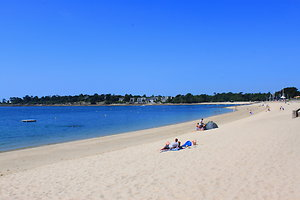 Our location in Brittany. beachwide